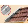 Anwendungsbild Isolierplattenschraube IPS-H 55: Wandanschlussprofil am Vordach